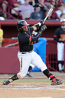 Catcher Kevin Martir (32) of the Maryland Terrapins in an NCAA Division I Baseball Regional Tournament game against the South Carolina Gamecocks on Sunday, June 1, 2014, at Carolina Stadium in Columbia, South Carolina. Maryland won, 10-1, to win the tournament. (Tom Priddy/Four Seam Images)