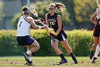 20 June 2006: Bryanne Gilkinson during Stanford's 17-9 loss to Northwestern in the first round of the 2006 NCAA Lacrosse Championships in Evanston, IL. Stanford made it to the NCAA's for the first time in school history.