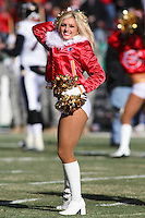 Chiefs cheerleaders entertain the crowd prior to the game with Baltimore at Arrowhead Stadium in Kansas City, Missouri on December 10, 2006. The Ravens won 20-10.