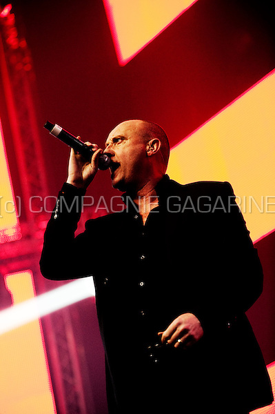 British synthpop band Heaven 17 at the Sinner's Day festival in Hasselt (Belgium, 31/10/2010)