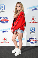 Zara Larsson<br /> at the Capital Summertime Ball 2017, Wembley Stadium, London. <br /> <br /> <br /> &copy;Ash Knotek  D3278  10/06/2017