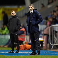 Shrewsbury Town manager Sam Ricketts in his technical area<br /> <br /> Photographer Andrew Vaughan/CameraSport<br /> <br /> The EFL Sky Bet League One - Shrewsbury Town v Lincoln City - Saturday 11th January 2020 - New Meadow - Shrewsbury<br /> <br /> World Copyright © 2020 CameraSport. All rights reserved. 43 Linden Ave. Countesthorpe. Leicester. England. LE8 5PG - Tel: +44 (0) 116 277 4147 - admin@camerasport.com - www.camerasport.com
