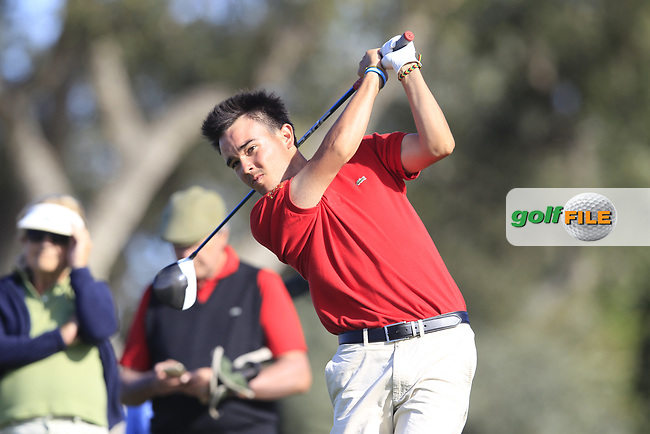 Angel Hidalgo Portillo (ESP) during the final round of the European Nations Cup, Real Club de Golf Sotogrande, Paseo del Parque, 11310 Sotogrande, C&aacute;diz  01/04/2017.<br /> Picture: Golffile | Fran Caffrey<br /> <br /> <br /> All photo usage must carry mandatory copyright credit (&copy; Golffile | Fran Caffrey)