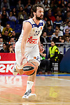 Real Madrid's Sergio Llull during Turkish Airlines Euroleague between Real Madrid and Brose Bamberg at Wizink Center in Madrid, Spain. December 20, 2016. (ALTERPHOTOS/BorjaB.Hojas)