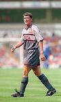 Roy Keane of Manchester Utd - Barclays Premier League - Aston Villa v Manchester Utd - Villa Park Stadium - Birmingham - England - 19th August 1995 - Picture Sportimage