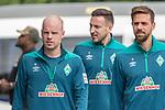 06.01.2019, Trainingsgelaende Randburg Football Club, Johannesburg, RSA, TL Werder Bremen Johannesburg Tag 04<br /> <br /> im Bild / picture shows <br /> <br /> Davy Klaassen (Werder Bremen #30)<br /> Kevin M&ouml;hwald / Moehwald (Werder Bremen #06)<br /> Martin Harnik (Werder Bremen #09)<br /> Foto &copy; nordphoto / Kokenge