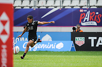 Niall Williams of New Zealand during the women's HSBC Paris Sevens match between New Zealand and England, Rugby Sevens World Series at Stade Jean Bouin on June 8, 2018 in Paris, France. (Photo by Sandra Ruhaut/Icon Sport)