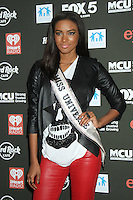 NEW YORK, NY - OCTOBER 04: Miss Universe Leila Lopes at Hard Rock Rocks Times Square at Hard Rock Cafe, Times Square on October 4, 2012 in New York City. © RW/MediaPunch Inc. © /NortePhoto