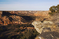 Palo Duro Canyon, Palo Duro Canyon State Park, Canyon, Panhandle, Texas, USA, February 2006
