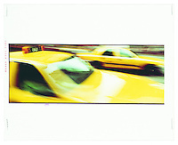 "New York Cab. Title: ""Big Yellow Taxi"""