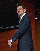 United States House Speaker Paul Ryan (Republican of Wisconsin) departs after conducting his weekly press conference in the US Capitol in Washington, DC on Thursday, April 21, 2016.<br /> Credit: Ron Sachs / CNP