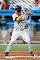 July 24, 2009:  Outfielder Erik Kanaby of the Jamestown Jammers  during a game at Dwyer Stadium in Batavia, NY.  The Jammers are the NY-Penn League Short-Season Single-A affiliate of the Florida Marlins.  Photo By Mike Janes/Four Seam Images