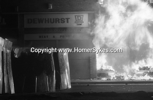 Toxteth Liverpool after riots. July 1981<br />