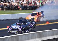 Sep 15, 2019; Mohnton, PA, USA; NHRA funny car driver Jack Beckman during the Reading Nationals at Maple Grove Raceway. Mandatory Credit: Mark J. Rebilas-USA TODAY Sports