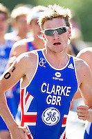 04 JUL 2010 - ATHLONE, IRL - Will Clarke (GBR) - European Elite Mens Triathlon Championships (PHOTO (C) NIGEL FARROW)