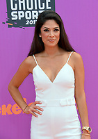 Nicole Johnson at Nickelodeon's Kids' Choice Sports 2017 at UCLA's Pauley Pavilion. Los Angeles, USA 13 July  2017<br /> Picture: Paul Smith/Featureflash/SilverHub 0208 004 5359 sales@silverhubmedia.com