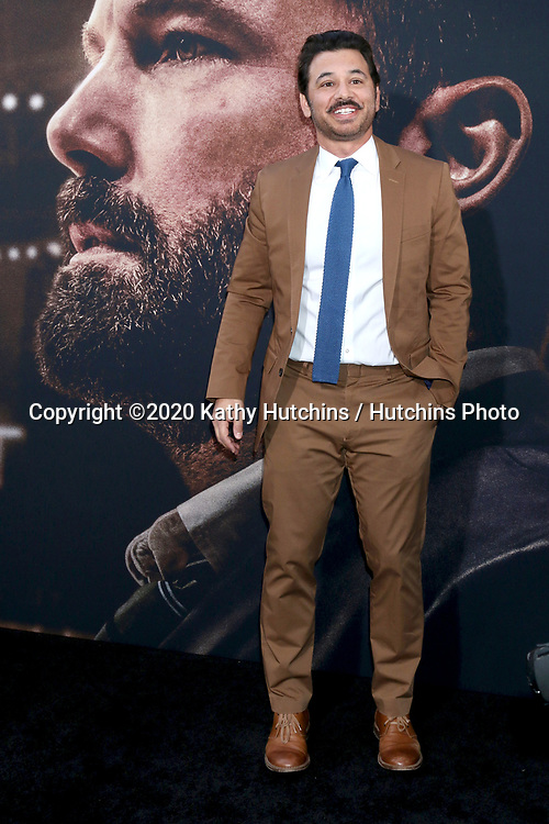 LOS ANGELES - MAR 1:  Al Madrigal at the The Way Back Premiere at the Regal LA Live on March 1, 2020 in Los Angeles, CA