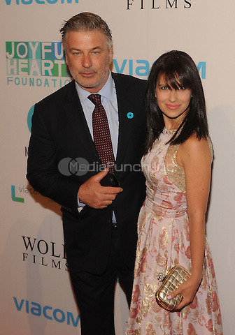 New York,NY-May 29: Alec Baldwin, Hilaria Baldwin Attends Mariska Hargitayís Joyful Heart Foundation 10th anniversary  in New York City on May 29, 2014. Credit: John Palmer/MediaPunch