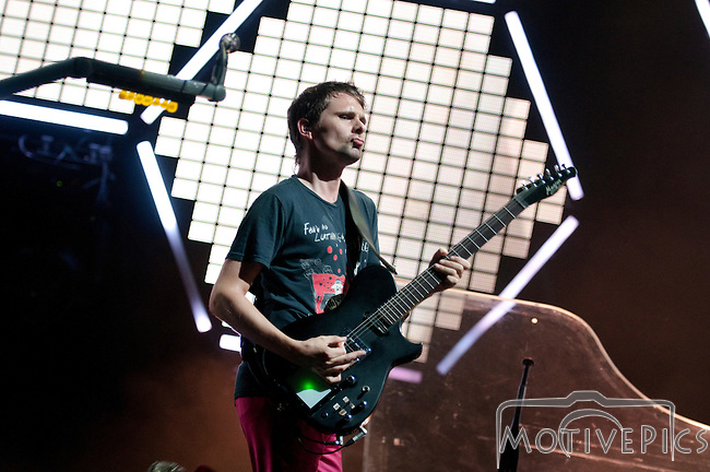 Muse plays the Main Stage at the First Annual Kanrocksas Music Festival.