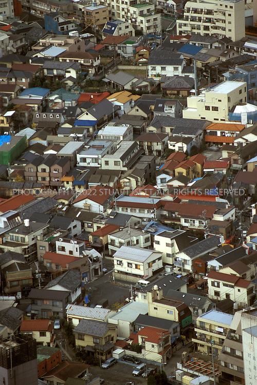 12/10/2002--Tokyo, Japan..Tokyo is one of the world's biggest and most congested cites with over 17 million residents. Here we see Shinjuku, one of the city's largest wards....All photographs ©2003 Stuart Isett.All rights reserved.This image may not be reproduced without expressed written permission from Stuart Isett.