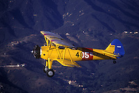 Airplane, 1943 Stearman WW2 trainer.