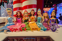 "The Disney Princess Ultimate Collection 7-pack displayed in the Target ""Wonderland!"" pop-up store in the Meatpacking District in New York on its grand opening day, Wednesday, December 9, 2015. According to Target the store combines physical and digital shopping using medallions given to visitors with an embedded RFID chip. Tapping the chip to an antenna near the product lets you order it. The store is an experiment in technology replacing shopping carts with chips.  (© Richard B. Levine)"