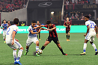 Atlanta, Georgia - Sunday September 10, 2017:   Atlanta United defeated FC Dallas 3-0 in the inaugural match at Mercedes Benz Stadium in front of a sellout crowd of 45,314.