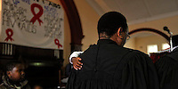 Sunday church service, Langa, SA 2009