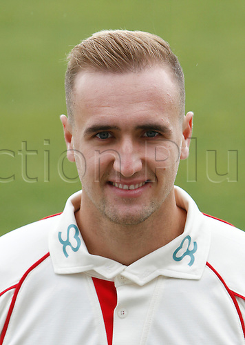 08.04.2016. Old Trafford, Manchester, England. Lancashire County Cricket Press Call. Lancashire all-rounder Liam Livingstone.