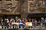Saturday, April 14,  2007, New York, New York.. The 9th annual Tartan Day Parade was held today on 6th Avenue between 44th and 58th Streets.. Thousands turned out to play the drums, pipes and to view all those dressed for the occasion.. The Davidson and Houlton- Vinyl families came out to show their support for the Scottish.