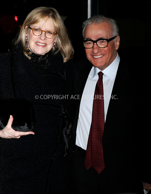 WWW.ACEPIXS.COM . . . . .  ....January 10 2012, New York City....Director Martin Scorsese (R) and Helen Morris arriving at the 2011 National Board of Review Awards gala at Cipriani 42nd Street on January 10, 2012 in New York City.....Please byline: NANCY RIVERA- ACE PICTURES.... *** ***..Ace Pictures, Inc:  ..tel: (212) 243 8787 or (646) 769 0430..e-mail: info@acepixs.com..web: http://www.acepixs.com