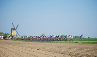 peloton cruising in Holland<br /> <br /> Amstel Gold Race 2014