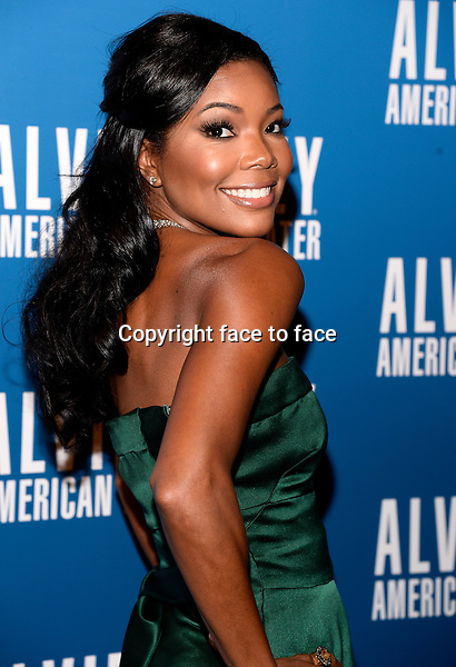 NEW YORK, NY - DECEMBER 04: Actress Gabrielle Union pictured at Alvin Ailey's Opening Night Gala at New York City Center, on December 4, 2013 in New York City. Credit: RTNPluvious/MediaPunch Inc.<br />