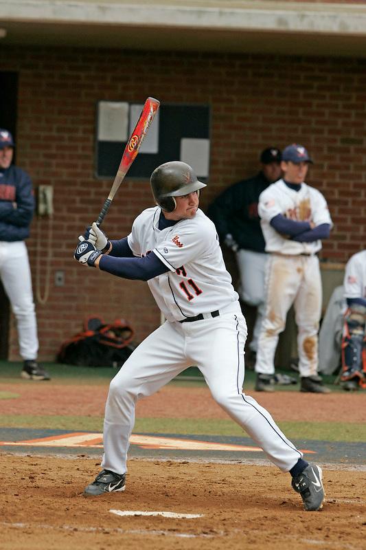 UVa's Ryan Zimmerman baseball player for the Virginia Cavaliers at the University of Virginia. Photo/Andrew Shurtleff