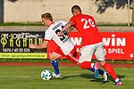 31.07.2017, Silberstadt Arena, Schwaz, AUT, FSP, Hamburger SV vs Antalyaspor, Finn Porath (Hamburg #34), Luis Francisco (Antalyaspor #20)<br /> <br /> Foto &copy; nordphoto / Hafner
