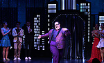 "Josh Lamon during the Broadway Opening Night Curtain Call of ""The Prom"" at The Longacre Theatre on November 15, 2018 in New York City."
