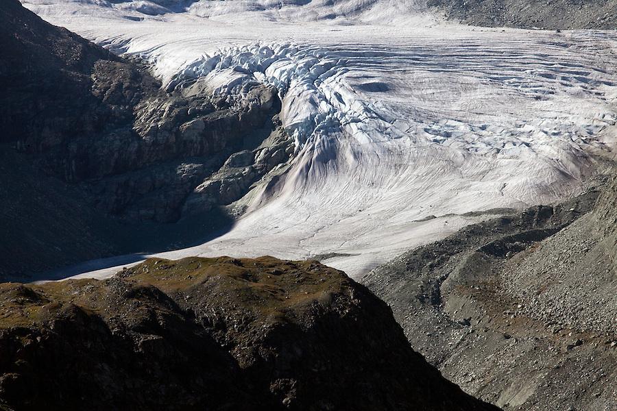 Glacier de Moiry, Switzerland.