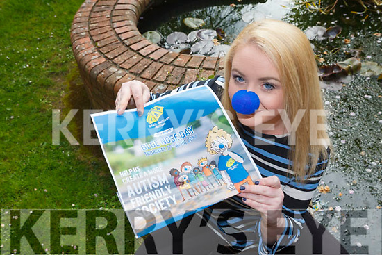 Singer Lisa Curran from Tralee is releasing a song in aid of Irish Autism Action and is calling on the public to support the national Blue Nose Day today (Thursday 27th).