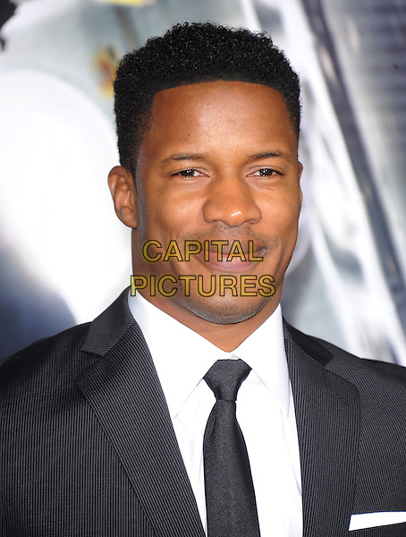 LOS ANGELES, CA - FEBRUARY 24 -Nate Parker attends Universal Pictures' Non-Stop held at Regency Village Theatre in Westwood, California on February 24,2014                                                                               <br /> CAP/DVS<br /> &copy;DVS/Capital Pictures