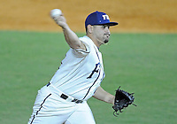 Florida International University right handed pitcher Albert Cardenas (31) plays against the University of North Florida. FIU won the game 6-4 on March 13, 2012 at Miami, Florida.
