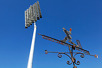 Weather vane and floodlight prior to  Essex CCC vs Kent CCC, Bob Willis Trophy Cricket at The Cloudfm County Ground on 4th August 2020