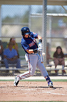 Minnesota Twins Andrew Bechtold (7) during a Minor League Spring Training game against the Tampa Bay Rays on March 17, 2018 at CenturyLink Sports Complex in Fort Myers, Florida.  (Mike Janes/Four Seam Images)