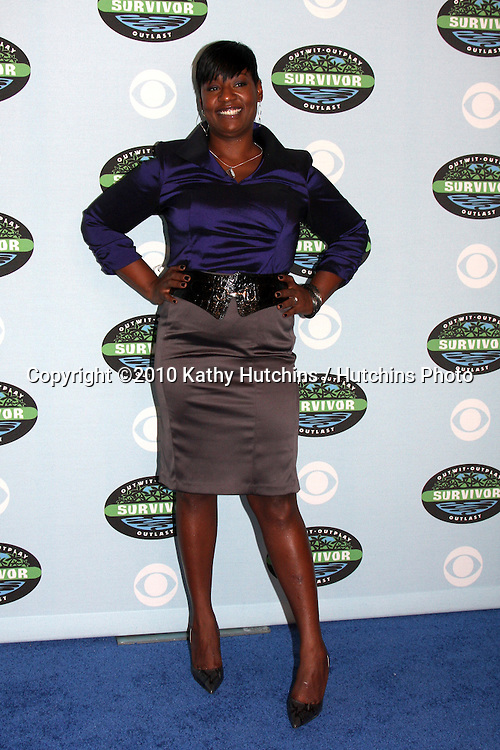 """Cirie Fields.arrivng at the """"Survivor"""" 10 Year Anniverary Party .CBS Television CIty.Los Angeles, CA.January 9, 2010.©2010 Kathy Hutchins / Hutchins Photo...."""