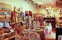 Gift shop within the Bailey House Museum, an historical mission house with Hawaiiana and art and craft demonstrations, Wailuku, Maui