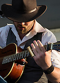 Jonny Gray performs at the Kingman Bluegrass Festival in Washington, DC.