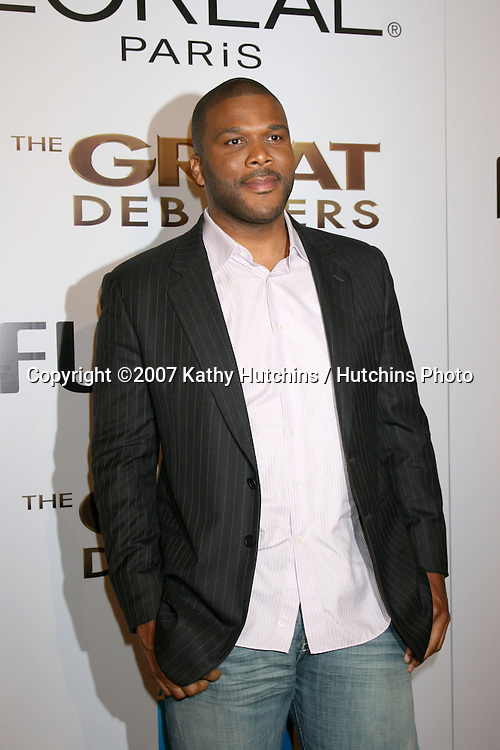 """Tyler Perry.""""The Great Debaters"""" Premiere.ArcLight Cinerama Dome Theater.December 11, 2007.Los Angeles, CA.©2007 Kathy Hutchins / Hutchins Photo..."""