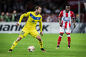 14th September 2017, Red Star Stadium, Belgrade, Serbia; UEFA Europa League Group stage, Red Star Belgrade versus BATE; Midfielder Igor Stasevich of FC BATE Borisov in action