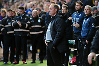 Steve Cooper Head Coach of Swansea City during the Sky Bet Championship match between Swansea City and Cardiff City at the Liberty Stadium in Swansea, Wales, UK. Sunday 27 October 2019