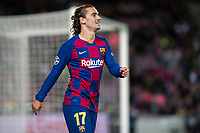 5th November 2019; Camp Nou, Barcelona, Catalonia, Spain; UEFA Champions League Football, Barcelona versus Slavia Prague; Antoine Griezmann during round 4 of UEFA Champions League match against Slavia Praga - Editorial Use