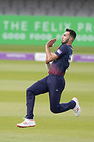 Saqib Mahmood of Lancashire CCC in action during Middlesex vs Lancashire, Royal London One-Day Cup Cricket at Lord's Cricket Ground on 10th May 2019